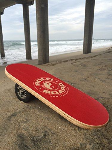 Rolo Balance Board Rad Red - Original Training Package by Rolo Board (Image #1)