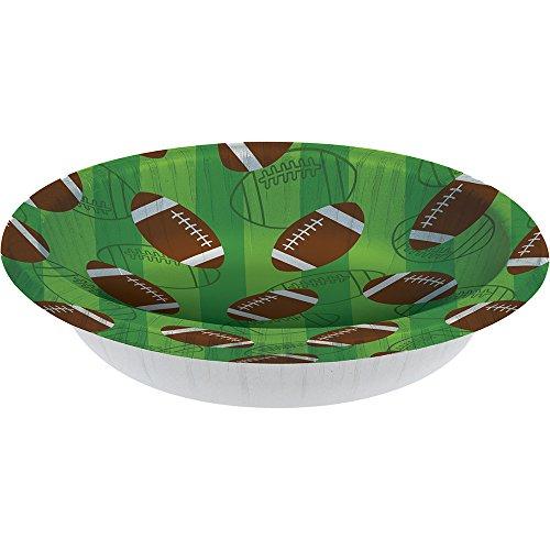 Creative Converting 96-Count Paper Bowls, 20 oz, (Super Bowl Paper Goods)