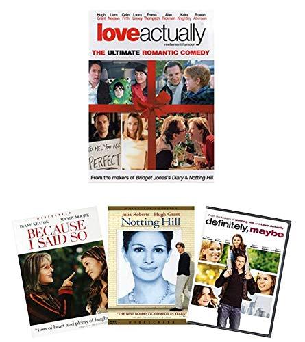 Amazon Com Love Actually 2003 Dvd 3 Bonus Romances Notting Hill Definitely Maybe Because I Said Do Movies Tv