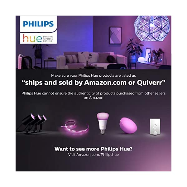 Philips Hue Bluetooth Smart Lightstrip Plus 2m/6ft Base Kit with Plug, (Voice Compatible with Amazon Alexa, Apple… 7