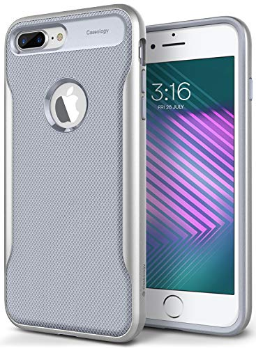 Caseology Apex 2 for Apple iPhone 8 Plus Case (2017) / for iPhone 7 Plus Case (2016) - Ocean Gray