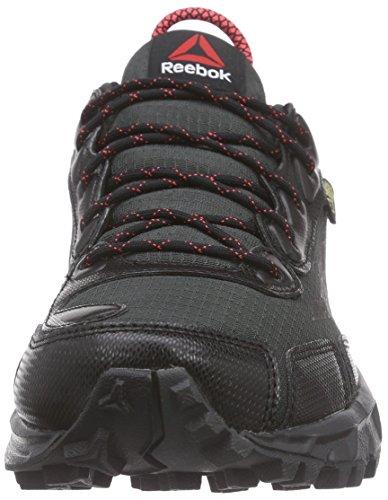 Reebok Una Sega 30 Gtx W Damen Walkingschuhe Schwarz (nero / Ghiaia / Gesso / Neon Cherry 000)
