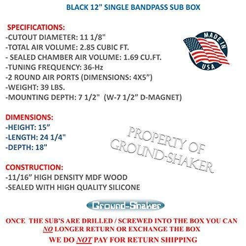 Buy single bandpass 12