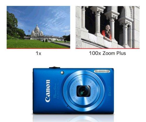 Canon PowerShot ELPH 115 16MP Digital Camera (Blue) (OLD MODEL)