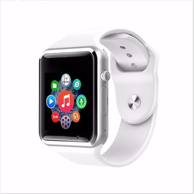 AGPtek A1 Bluetooth del teléfono del reloj del reloj inteligente Soporta GSM SIM Smartphone Android, cámara de 3.0 megapíxeles, Bluetooth 3.0