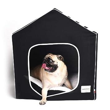 WLDOCA Cama para Perros y Gatos. Cojines Plegables extraíbles para Animales,Black: Amazon.es: Deportes y aire libre