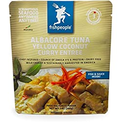 Fishpeople Albacore Tuna in Yellow Coconut Curry, 7 Ounce