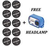 Energizer CR2032 Lithium Coin Battery 10 Pack Bundle