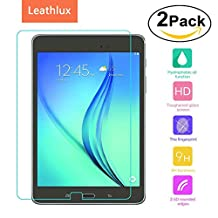 [2-Pack] Screen Protector for Galaxy Tab S2 9.7, Leathlux [0.26mm] Ultra Thin Tempered Glass Film 9H Hardness HD Clear Toughened Glass Screen Cover for Galaxy Tab S2 9.7 / SM-T810 / SM-T815