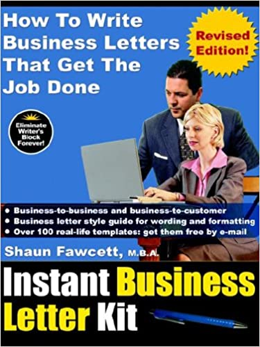 Instant Business Letter Kit How To Write Business Letters That Get