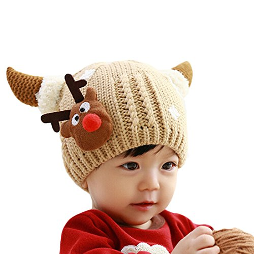 Baby Crochet Cashmere Christmas Beanie product image