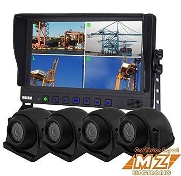 Kit de sistema de copia de seguridad de visión trasera cámara de marcha atrás sistema de