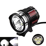 GohEun 3x XM-L2 LED Cycling Front Bicycle Bike light Headlight Headlamp