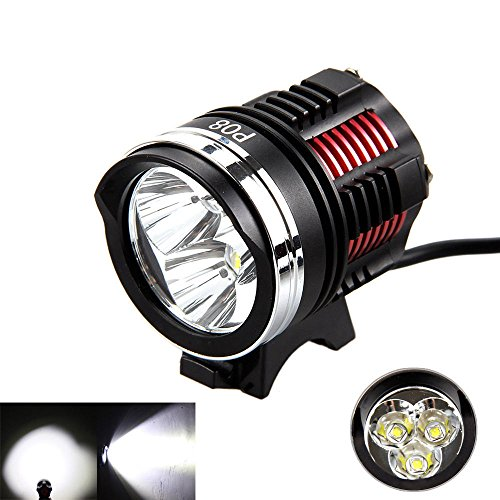 GohEun 3x XM-L2 LED Cycling Front Bicycle Bike light Headlight Headlamp by Unknown