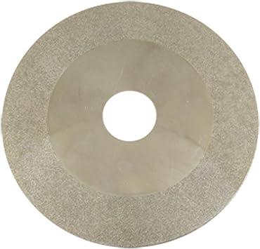 Muela de rectificar tipo diamante cristal disco 10,16 cm por alg/ún
