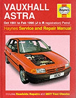 vauxhall astra petrol oct 91 feb 98 haynes repair manual haynes rh amazon co uk Destroyer Flecher Haynes Manual haynes manual opel astra f