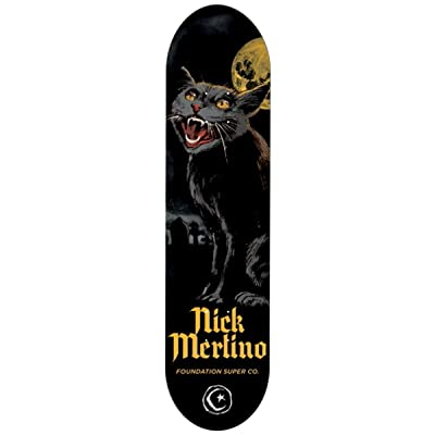 Foundation Horror Plateau de Skateboard Mixte