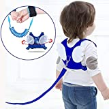 : (2 kit)Anti Lost Wrist Link 2 meters Wrist Leash for Kids & Toddlers Child Safety Wristband (Blue)