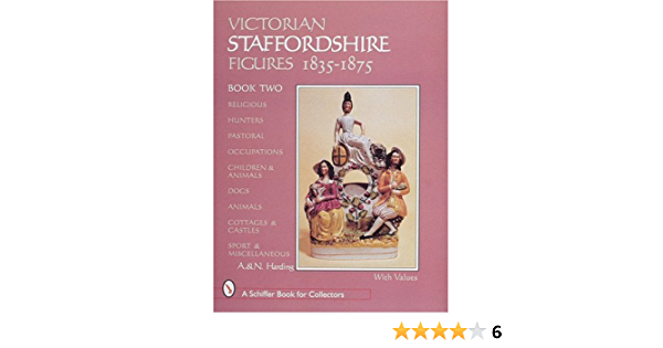 Staffordshire Figures of the 19th and 20th Centurie.. by Harding Kit Paperback