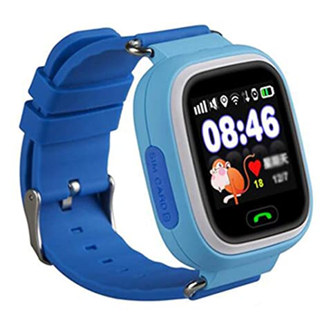 Amazon.com : Q90 Kids Smart Watch GPS Tracker - [Free SIM ...