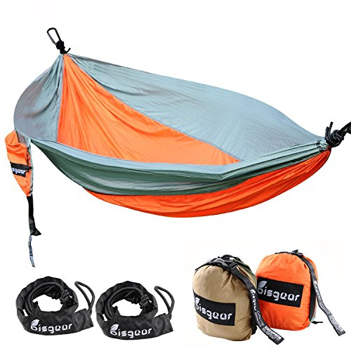 Double Single Camping Hammock Lightweight