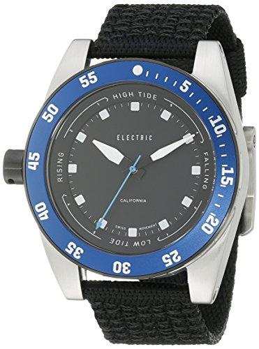 Electric Men's EW0140020032 DW03 Nato Band Analog Display Swiss Quartz Black Watch