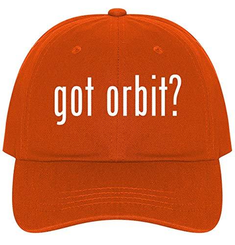The Town Butler got Orbit? - A Nice Comfortable Adjustable Dad Hat Cap, Orange