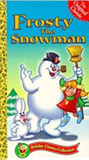 frosty the snowman vhs