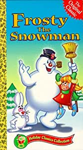 Amazon.com: Frosty the Snowman [VHS]: Jackie Vernon, Billy