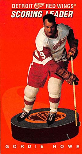 Gordie Howe hockey card (Detroit Red Wings Mr Hockey) 1995 Parkhurst 1964 1965 Tallboys #171 Scoring Leaders