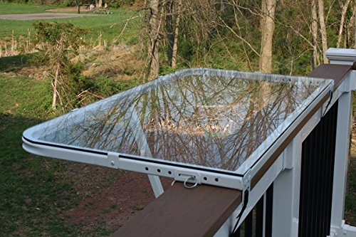 Real Life TRiCC DeckMate Glass Top, White Frame