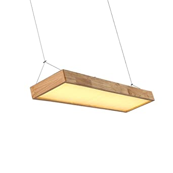 Trioy Life Lampe Suspension Nordic Led Design Moderne Rectangulaire
