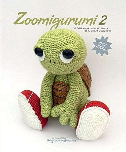 Zoomigurumi: 15 Cute Amigurumi Patterns by 12 Great Designers by Amigurumipatterns.net (2015-12-28) Taschenbuch – 1638 Tara Enterprise B01K3JO15W