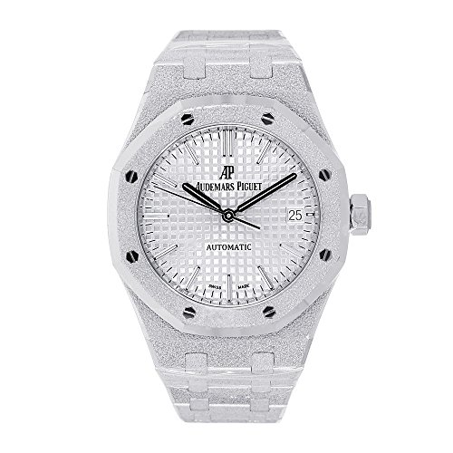Audemars Piguet Ladies Royal Oak 37mm Frosted White Gold 15454BC.GG.1259BC.01