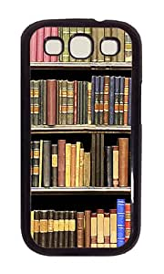 Samsung S3 Case,VUTTOO Cover With Photo: Books For Samsung Galaxy S3 I9300 - PC Black Hard Case