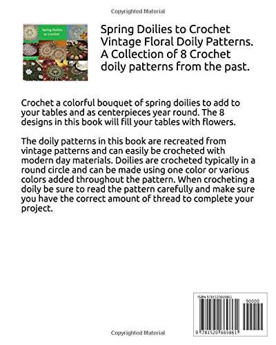 Spring Doilies To Crochet A Collection Of Floral Doily Crochet