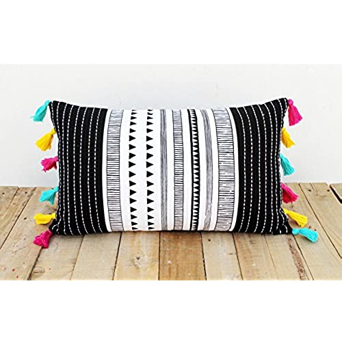 Tassel Pillow: Amazon.com