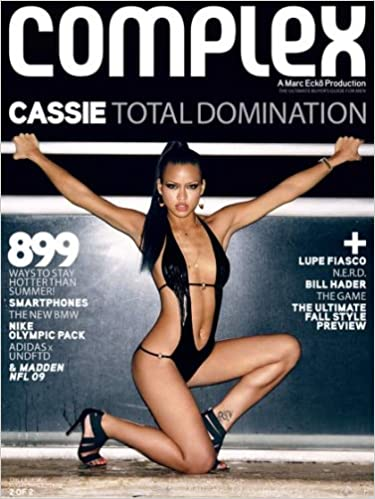 Book Complex Magazine (September 2008): Cassie (Cover 2 of 2)