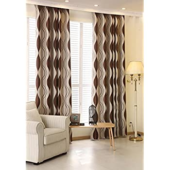 Beautiful ZWB Elegant And Comfort Heavy Thick Curtains For Living Room Bedroom  Grommet Top Blackout Curtains For