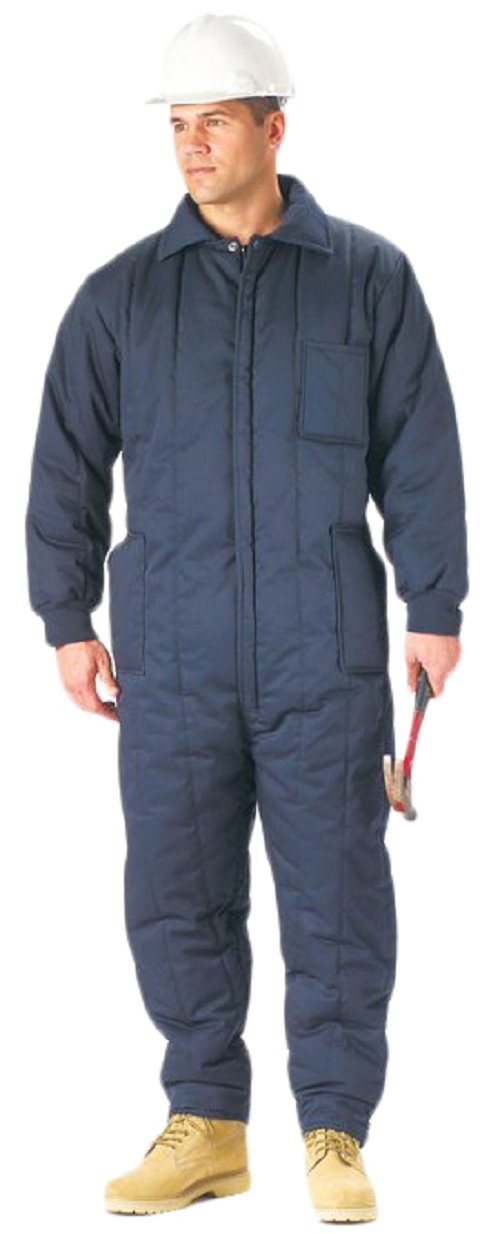 Galaxy Army Navy Navy Blue Insulated Coveralls