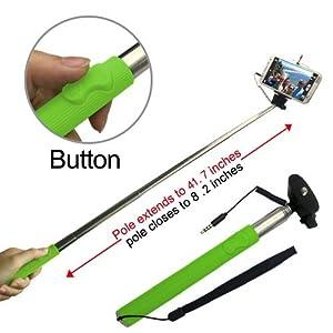 looq system dg l001 third generation extendable selfie monopod f. Black Bedroom Furniture Sets. Home Design Ideas
