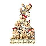 Disney Traditions Precarious Pyramid - 7 Dwarfs Figurine