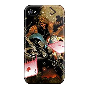 AnnaDubois Iphone 4/4s Great Hard Cell-phone Case Support Personal Customs Fashion Gambit I4 Image [jnu15379PvMd]