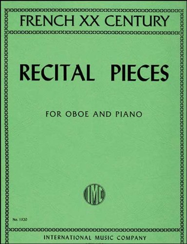 French XX Recital Pieces for oboe -
