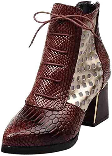 TTLOVE, Platform Boots dames 41 EU: Amazon.nl