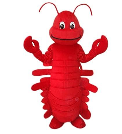 MascotShows Red Lobster Mascot Costume Adult Size Fancy Dress Suit  sc 1 st  Amazon.com & Amazon.com: MascotShows Red Lobster Mascot Costume Adult Size Fancy ...