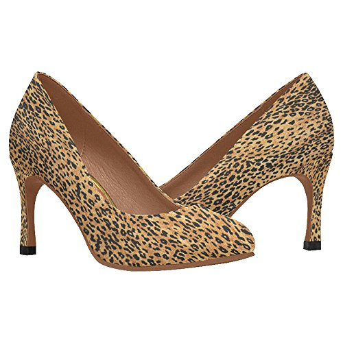 InterestPrint Womens Classic Fashion High Heel Dress Pump Shoes Multi 3 TSwuszOQ