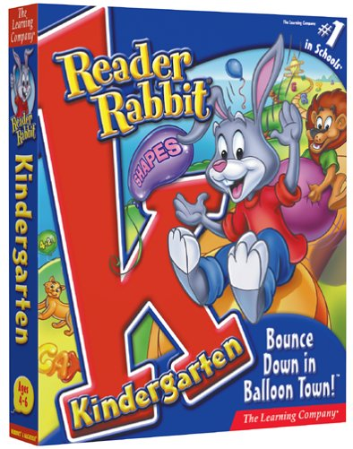 Reader Rabbit Kindergarten Bounce Down in Balloon Town by The Learning Company