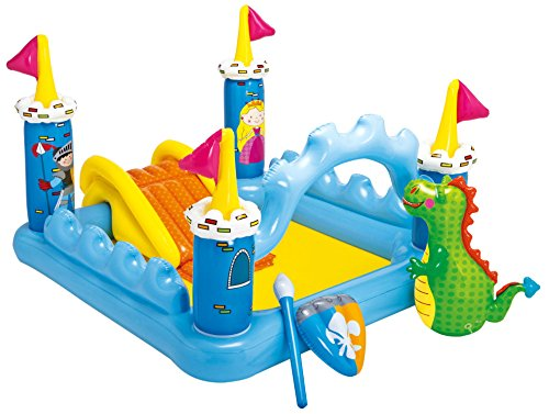 Intex Fantasy Castle Inflatable Play Center 73quot X 60quot X 42quot for Ages 2