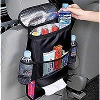 AUTOARK Organizador de asiento de automóvil estándar, bolsa de almacenamiento de viaje multibolsillo (conservación del calor), AK-002